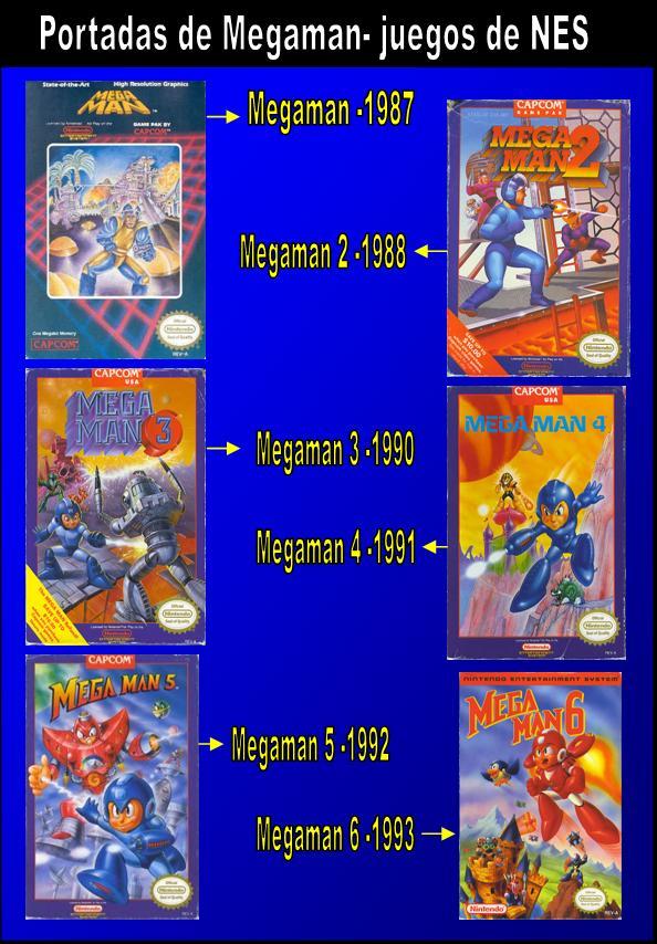 Portadas De Megaman