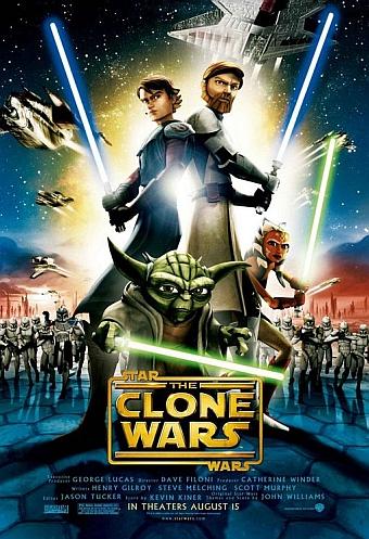 Cartel de Star Wars: Las Guerras Clon
