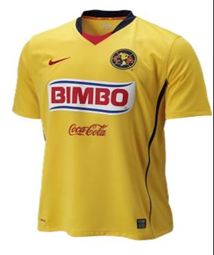 Nuevo uniforme del am rica zz xpress for Cuarto uniforme del america