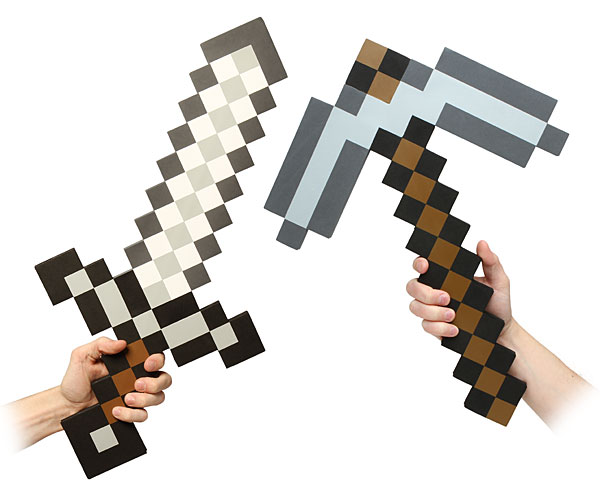 f499_minecraft_foam_sword_pickaxe